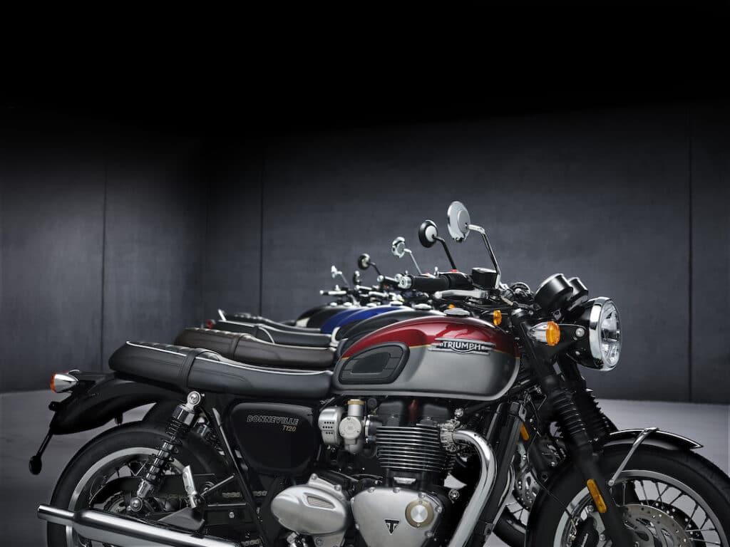 Triumph Bonneville 2021: de legende evolueert