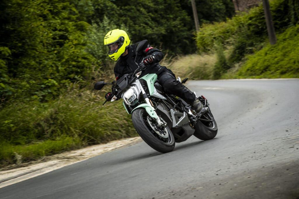 Lezerstest Zero Motorcycles